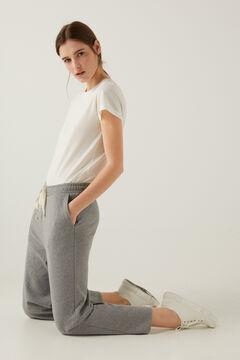 Springfield Pantalón culotte algodón orgánico gris