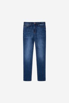 Springfield Medium-dark wash skinny jeans blue
