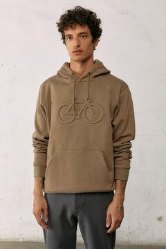 Springfield Bike hoodie medium beige