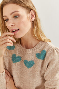 Springfield Relief Hearts Jumper stone