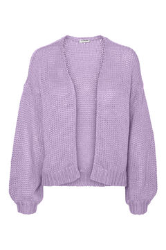 Springfield Knit cardigan purple