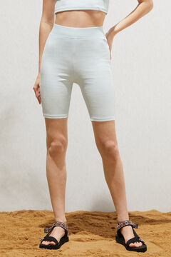 Springfield Organic cotton cycling leggings gray
