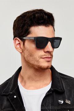 Springfield Gafas montura negra y lentes degradadas negro