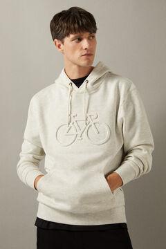 Springfield Bike hoodie grey
