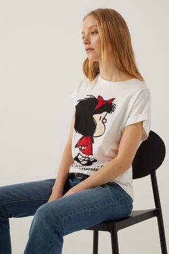 """Springfield """"Mafalda"""" t-shirt white"""