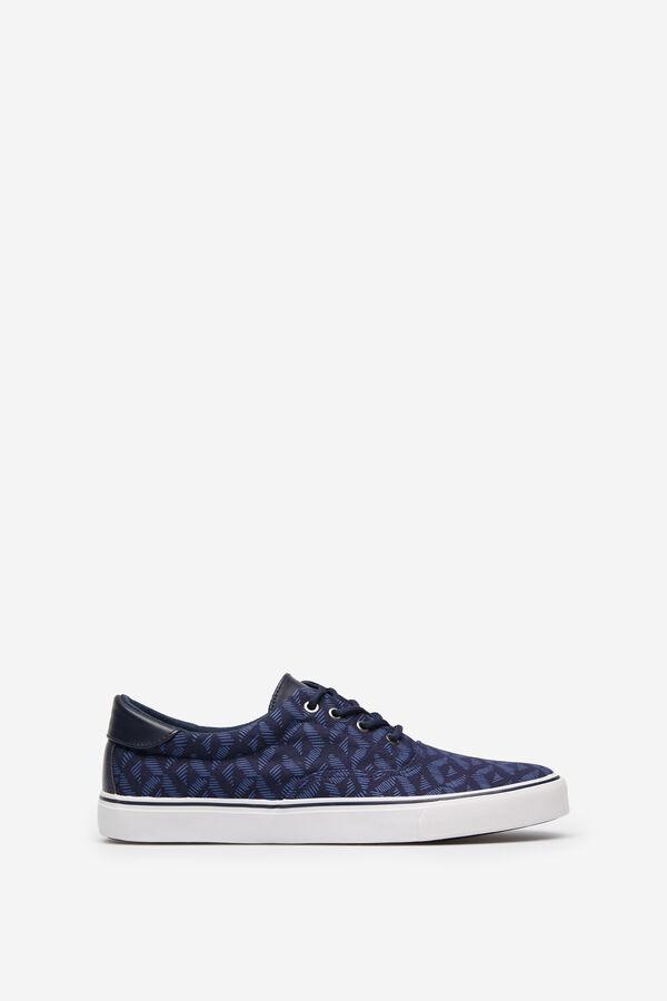 c384f6a6 Springfield Sneaker azul estampado azul