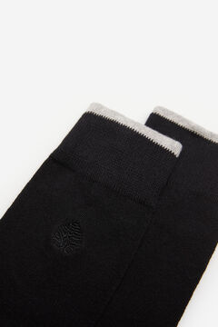 Springfield Embroidered tree socks black