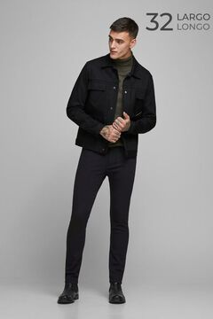Springfield Glenn slim fit tapered jeans noir