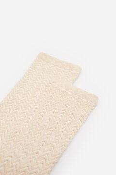 Springfield Textured socks natural