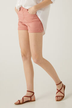 Springfield Coloured denim shorts pink