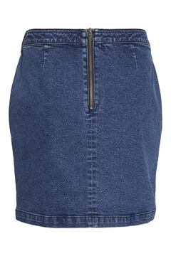 Springfield Denim mini skirt bluish