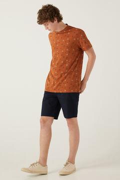 Springfield Ethnic T-shirt brown