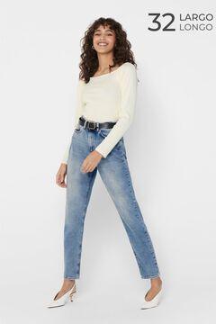 Springfield Slim fit jeans bleuté