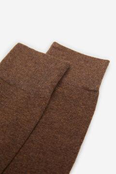Springfield CALCETÍN BÁSICO COLOR marrón