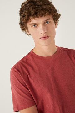 Springfield Essentials marl t-shirt royal red
