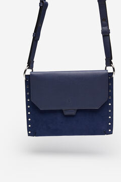 Springfield Studded crossbody bag navy mix