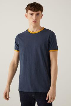 Springfield Contrasting t-shirt bluish