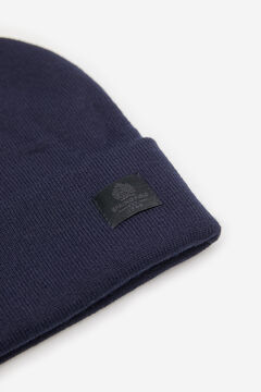 Springfield ESSENTIAL KNIT HAT blue