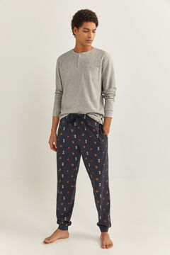 Springfield BREAKFAST PRINT PYJAMAS blue