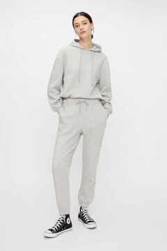 Springfield Jersey-knit trousers gray