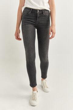 Springfield Pantalon Denim Slim gris