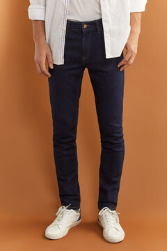 Springfield Desized wash skinny jeans navy