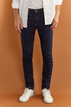 Springfield Jeans skinny desbotados marinho