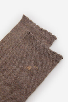 Springfield Wavy Star Socks brown