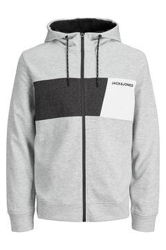 Springfield Zipped sweatshirt gray