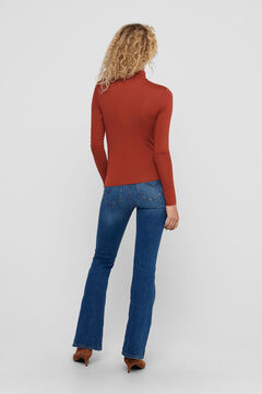 Springfield Polo neck top piros