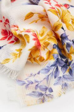 Springfield Printed scarf natural