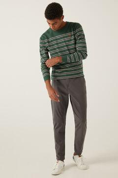 Springfield Jersey Cuello Alto Pullover Sweater Hombre