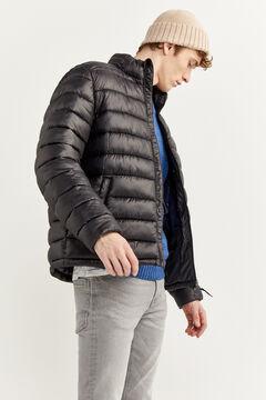 Springfield Water-repellent padded jacket black