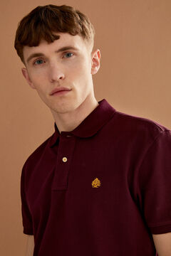 Springfield Essential piqué polo shirt red