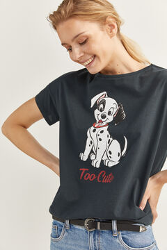 "Springfield T-Shirt ""Too Cute"" grau"