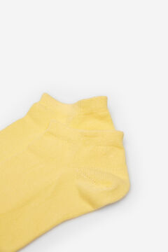 Springfield Coloured ankle socks mustard