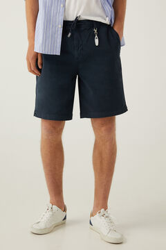 Springfield Beach Bermuda shorts keyring blue