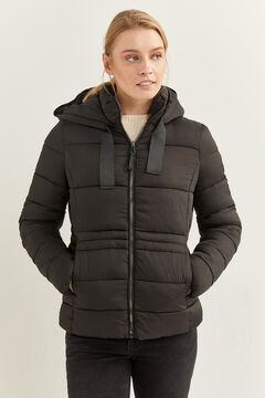 Springfield Essential Quilted Jacket black