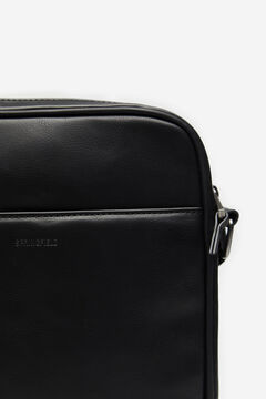 Springfield MEDIUM FAUX LEATHER BAG black