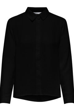 Springfield Plain long-sleeved shirt black