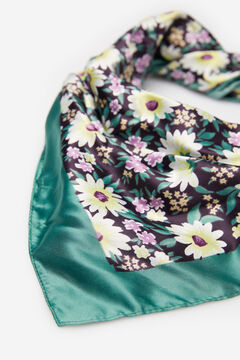 Springfield Floral scarf green