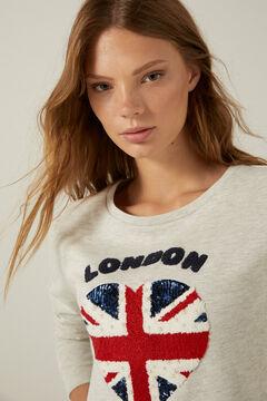 Springfield Reconsider London sweatshirt camel