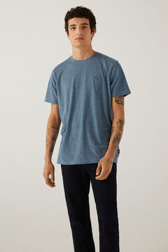 Springfield Textured t-shirt dark green