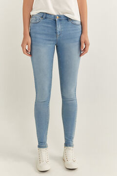 Springfield Jeans Jegging azul