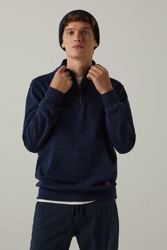 Springfield Essential trucker sweatshirt bluish