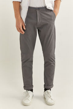 Springfield Essential slim chinos grey