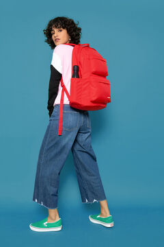 Springfield Backpacks PADDED DOUBLE MYSTY BLUE royal red