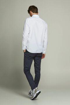 Springfield Straight trousers marineblau