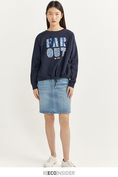 Springfield Sweat-shirt « Far Out » blue mix