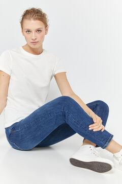 Springfield Straight Jeans steel blue